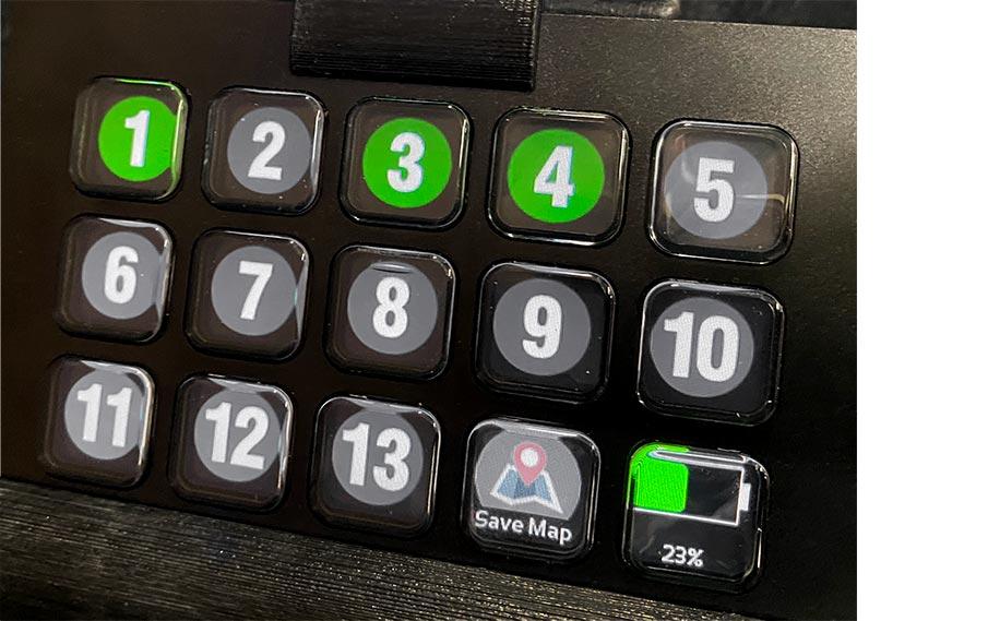 15-button EZ-Go Navigation system