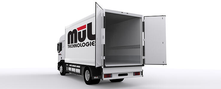 mul delivery truck
